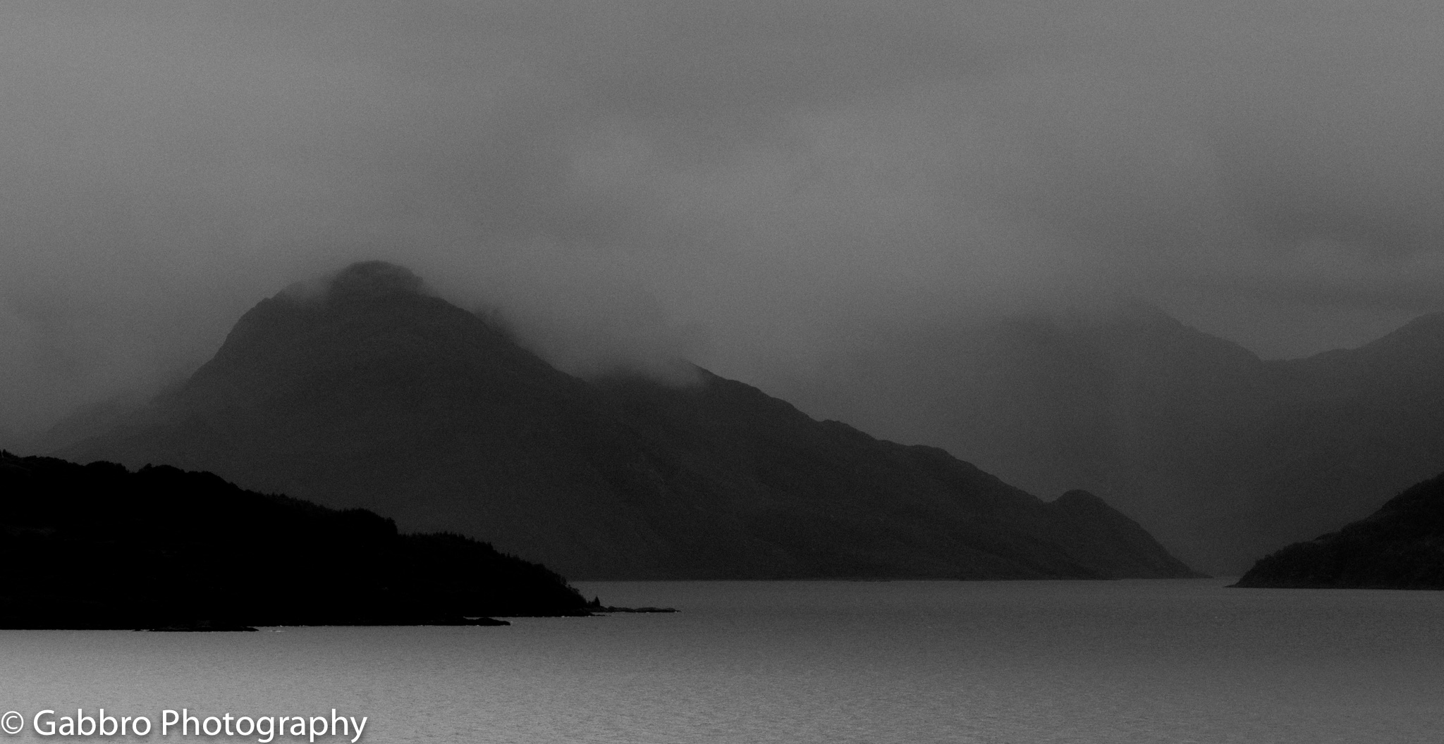 Loch Hourn from the Isle of Skye