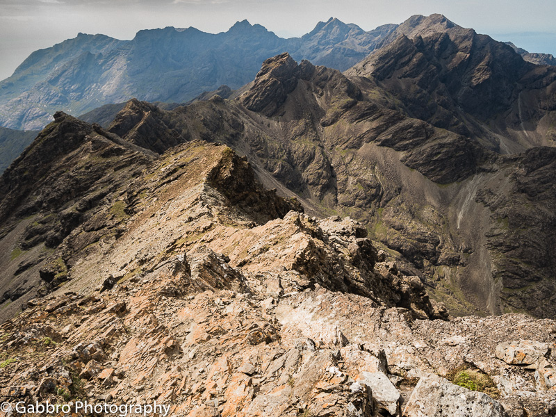 The Cuillin ridge from Bruach na Frithe